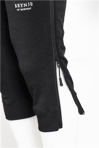 Arctic 3/4 longs zip-off detail
